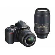 Nikon D3100 Digital SLR Camera with Nikon AF-S VR DX 18-55mm lens